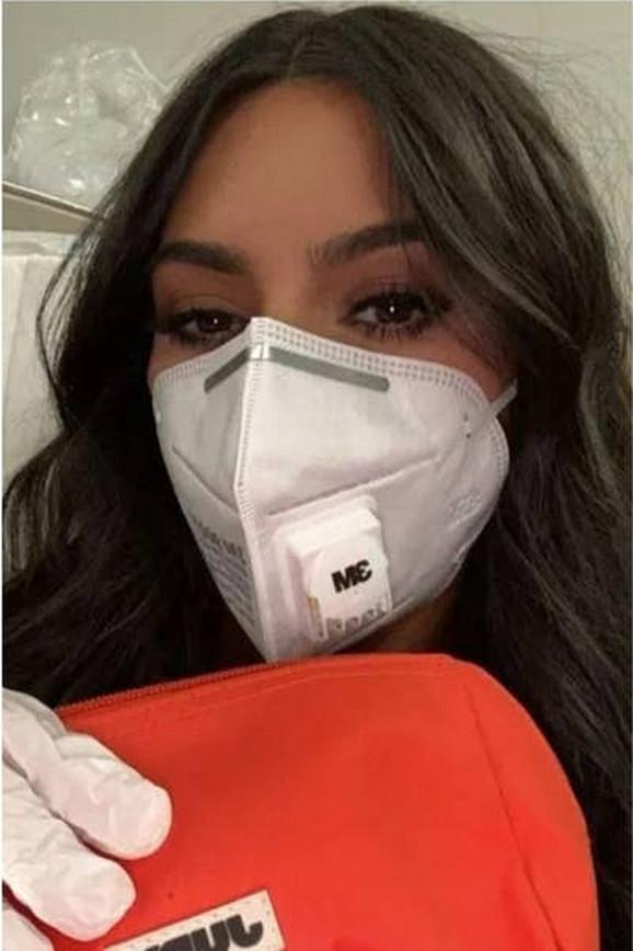 Kim Kardasian Printskrin Instagram
