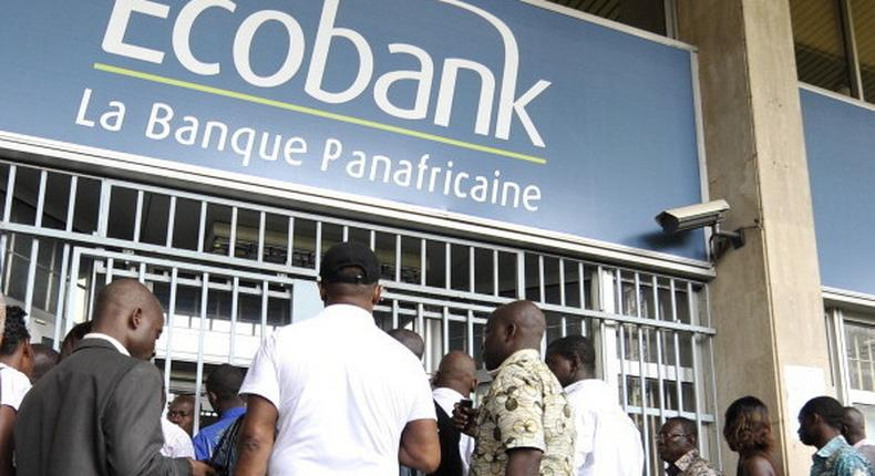 Ecobank branch used to illustrate the story (Newstage)