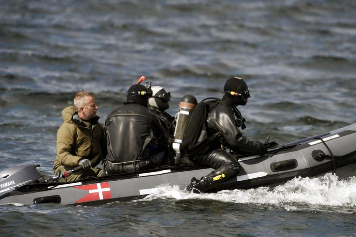 Divers looking for missing Swedish journalist