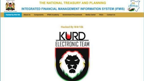 Kenyan government official websites hacked and defaced