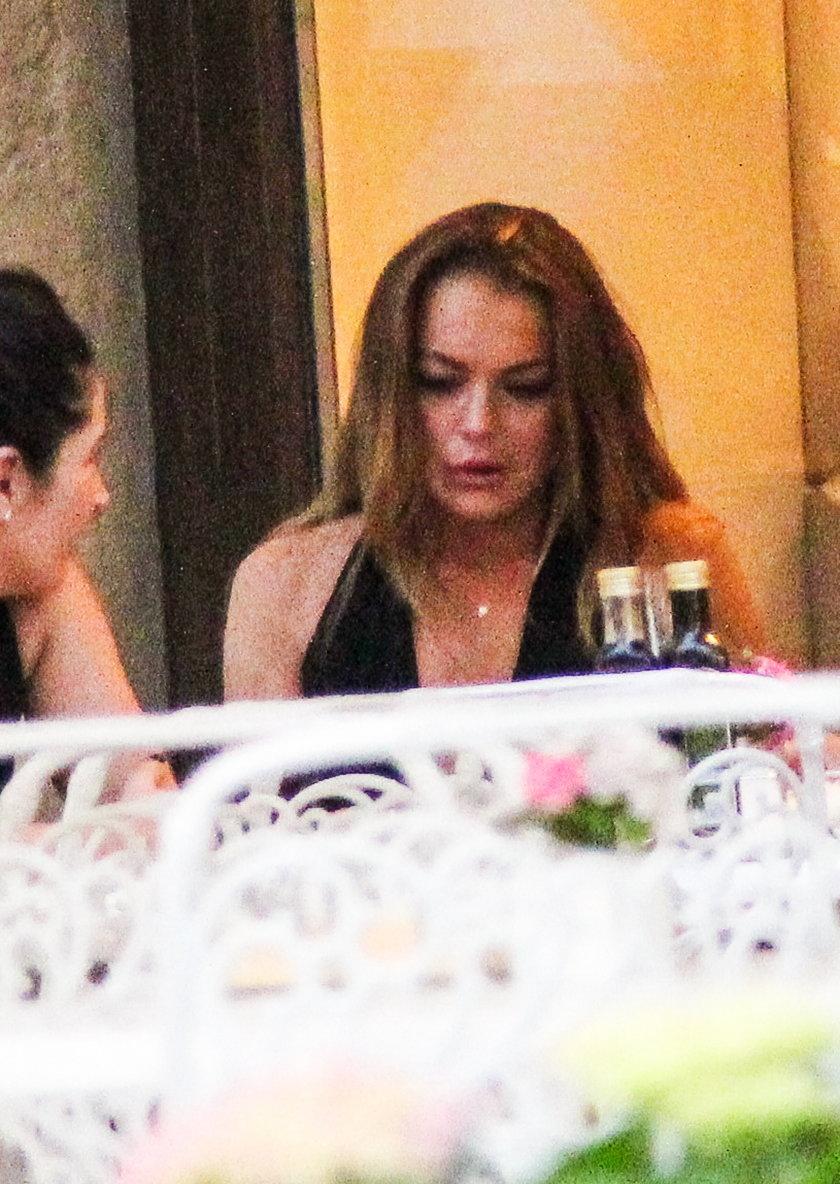 Linday Lohan wyproszono w Moskwie z restauracji