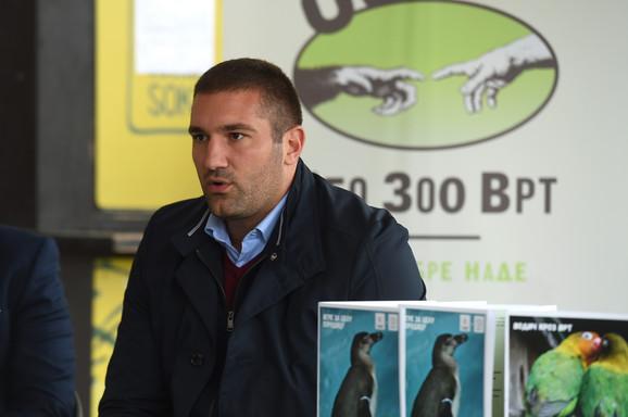 Direktor Beogradskog Zoološkog vrta Srboljub Aleksić