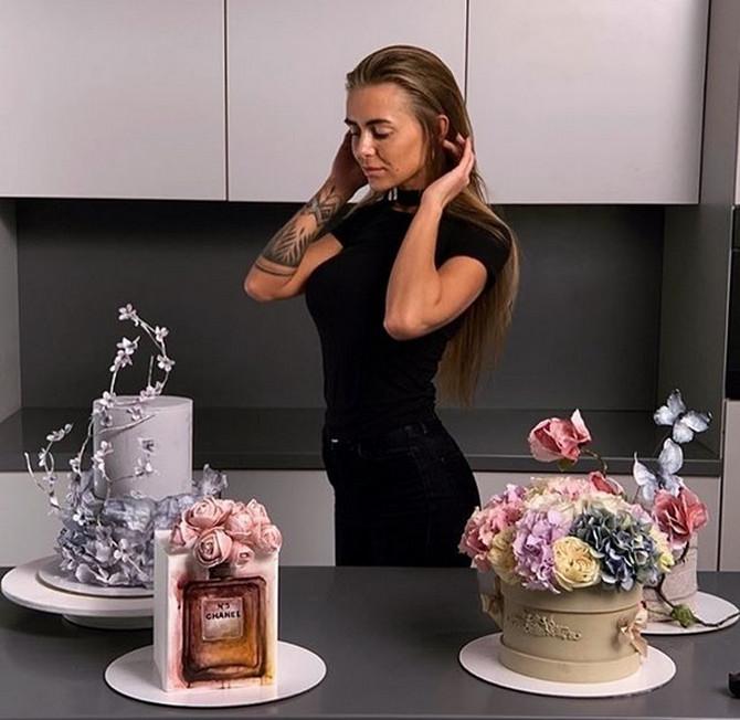 Ruskinja Elena pravi torte koje je živa šteta pojesti!