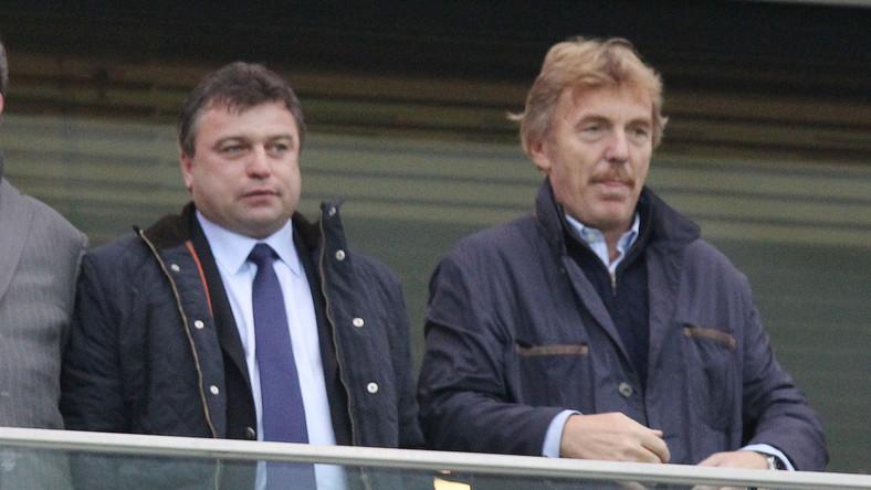 Roman Kosecki i Zbigniew Boniek
