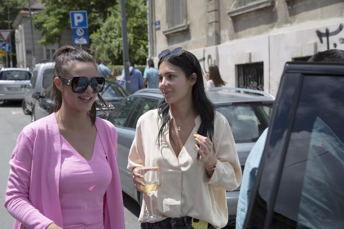 Anastasija Ražnatović i Bojana Rodić