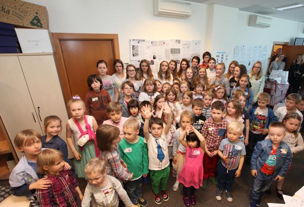 Dzień Dziecka w redakcji Dziennika Gazety Prawnej