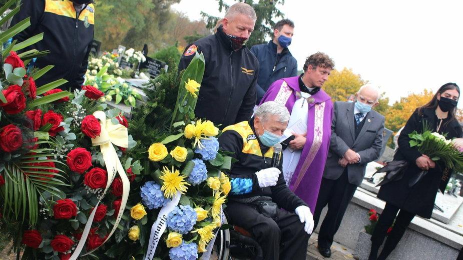 Pogrzeb Andrzeja Pogorzelskiego w Gnieźnie