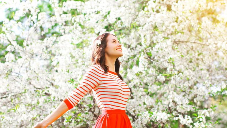 Szczęście. Radość; Wiosna. Relaks. Odpoczynek
