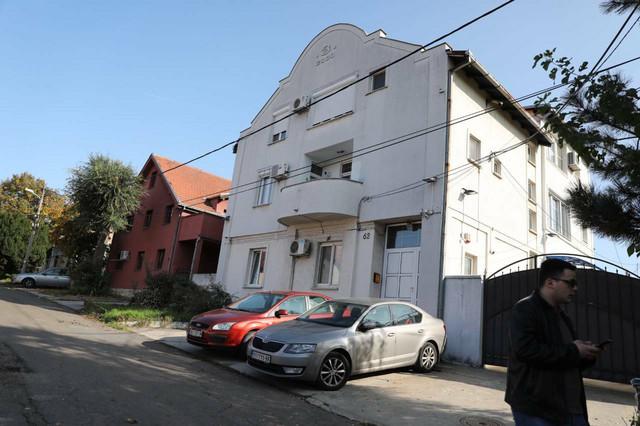 Zgrada ispred koje se dogodio napad