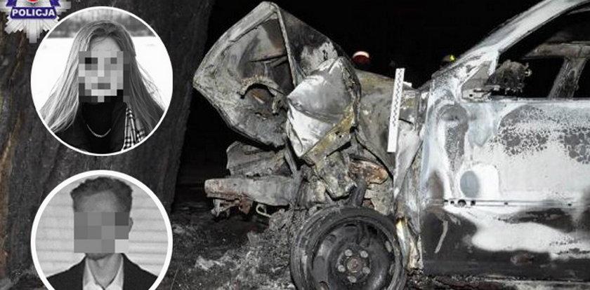 W sobotę mieli się pokłócić. Tej samej nocy Krystian uderzył autem w drzewo. Dwa dni później  w takim samym wypadku zginęła Patrycja