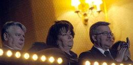 Pierwsza dama i prezydent na koncercie...