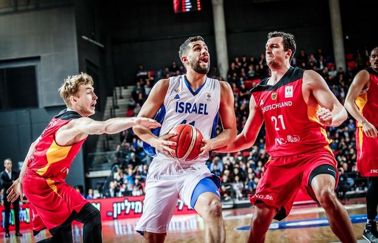 Košarkaška reprezentacija Izraela, Košarkaška reprezentacija Nemačke