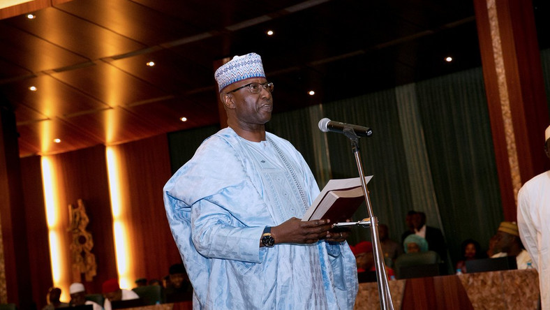 Secretary to the Government of the Federation (SGF), Boss Mustapha [PremiumTimes]