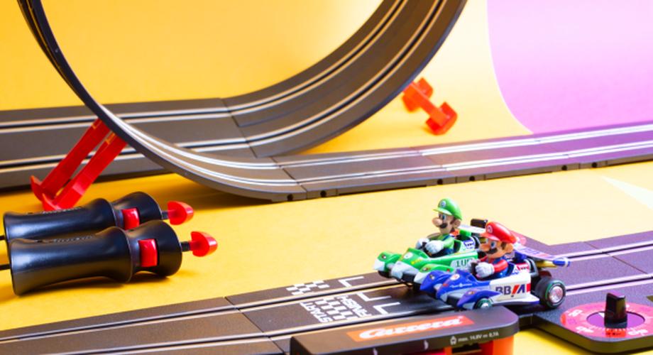 Mario Kart Carrera Bahn im Test: Autos mit Nintendo-Lizenz