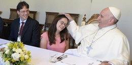Oni zjedli obiad z papieżem