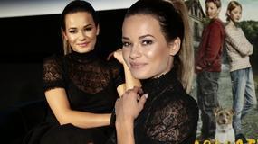 Natalia Szroeder promuje film w dziewczęcej stylizacji. Jest szał!