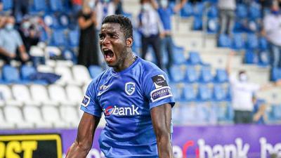 Paul Onuachu scores again to take his season tally to 32 league goals for Genk