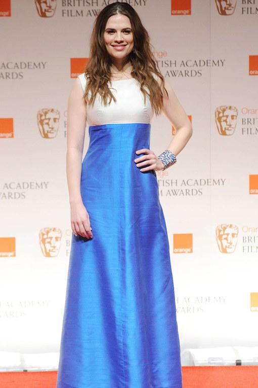 Hayley Atwell The Baftas 2012