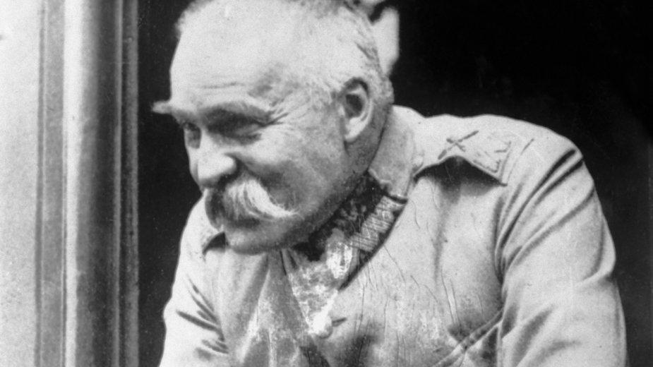 Józef Piłsudski (zdjęcie z ok. 1920 r.)