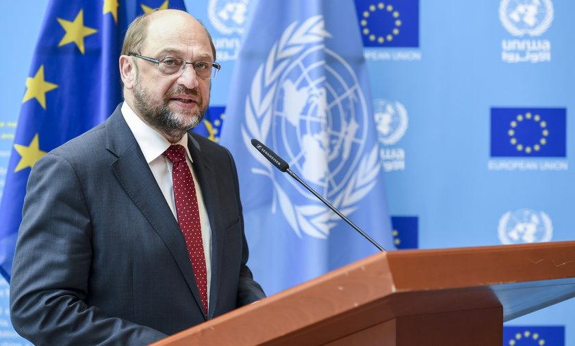 Martin Schulz zapowiada debatę o Polsce w PE