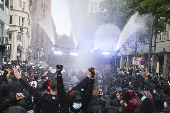 Protesti u Hamburgu