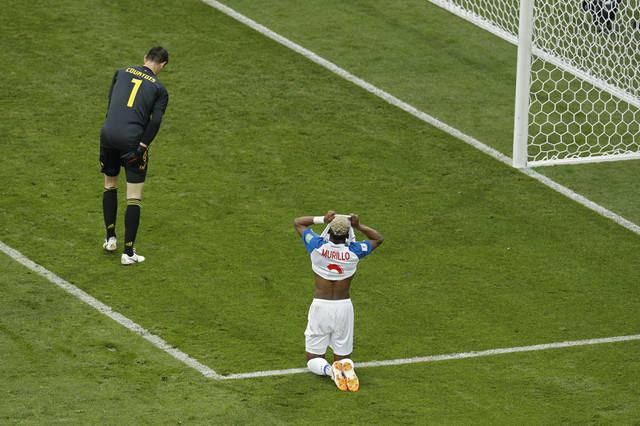 Očaj fudbalera Paname na duelu protiv Belgije