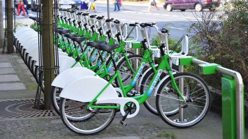 Rowery miejskie w Szczecinie