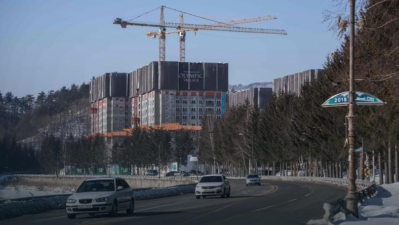 Budowa wioski olimpijskiej