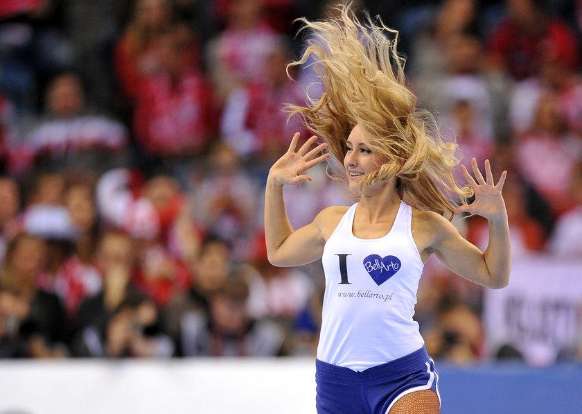 Polskie cheerleaderki i ich występy podczas ME w piłce ręcznej w Polsce