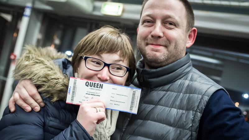 Queen + Adam Lambert w Łodzi: zdjęcia publiczności