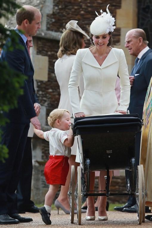 Chrzciny księżniczki Charlotte