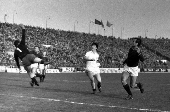 Detalj sa meča Partizan - Sparta Prag