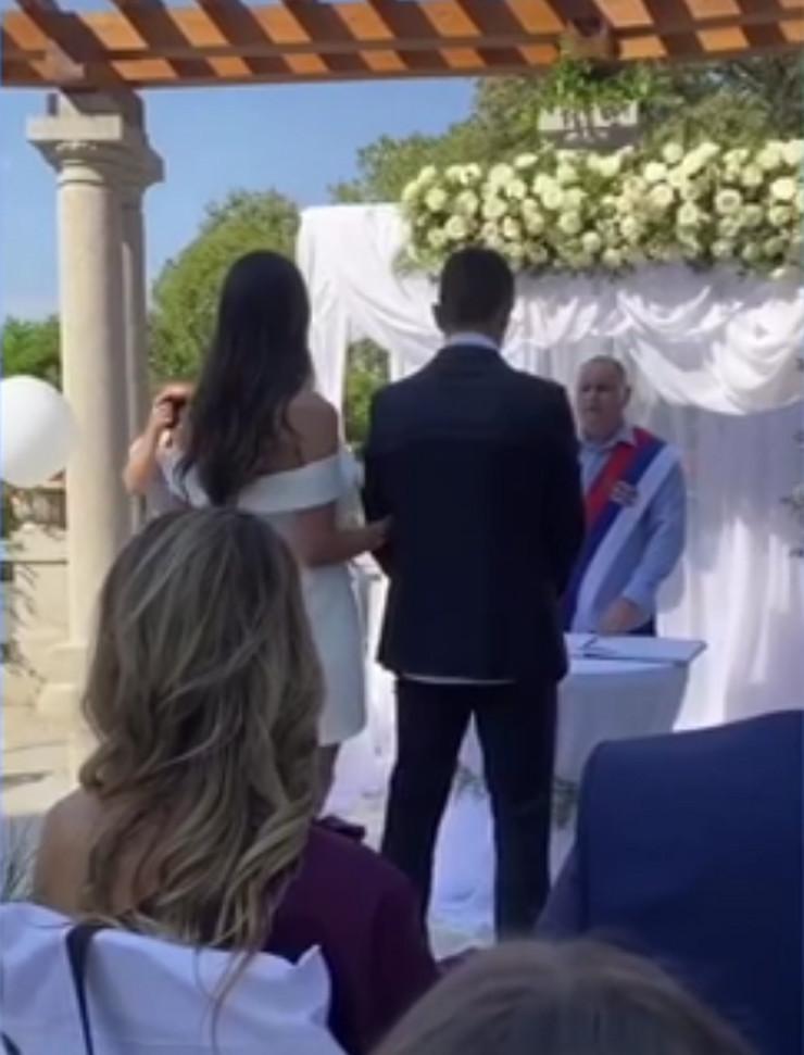 Venčanje Nemanje i Kristine Maksimović