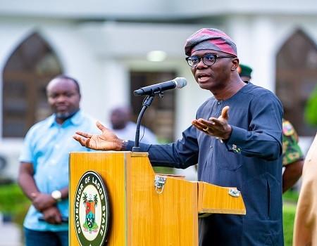 Governor Babajide Sanwo-Olu of Lagos State. (TRIBUNE)