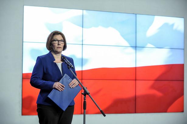 Rzecznik Prawa i Sprawiedliwości Beata Mazurek