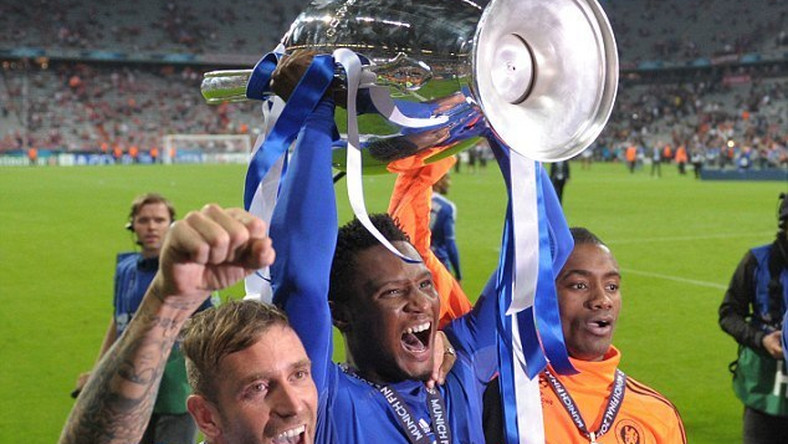 Image result for John Mikel Obi champions league medals