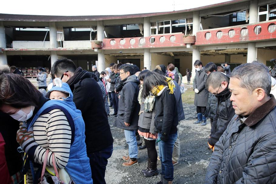 Japan marks 4th anniversary of the Great East Japan Earthquake