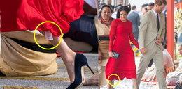 Wpadka Meghan Markle. Wszystko przez sukienkę...