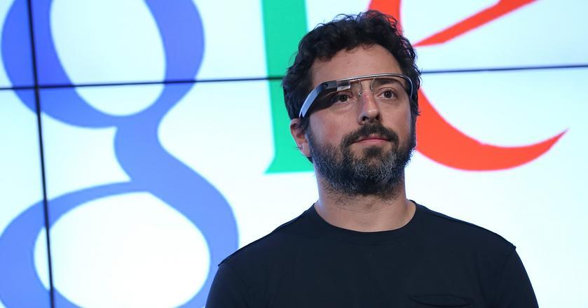 Sergey Brin, współzałożyciel Google, szef działu X - tzw. moonshotów