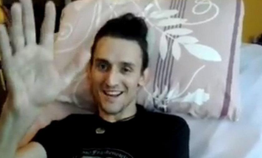 Tomasz Kowalski pokazał się 1. raz po groźnym wypadku