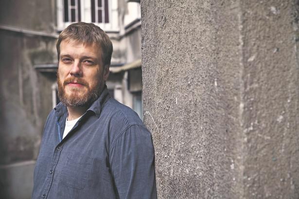 Adrian Zandberg, historyk, doktor nauk humanistycznych, współzałożyciel i członek zarządu krajowego Partii Razem