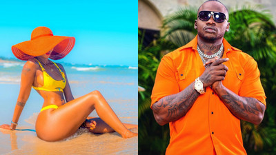 Khaligraph Jones fight with Huddah Monroe escalates after mocking her in new Corona freestyle