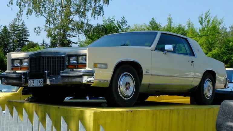 Auto z ogłoszenia Cadillac Eldorado Diesel - pomnik kryzysu