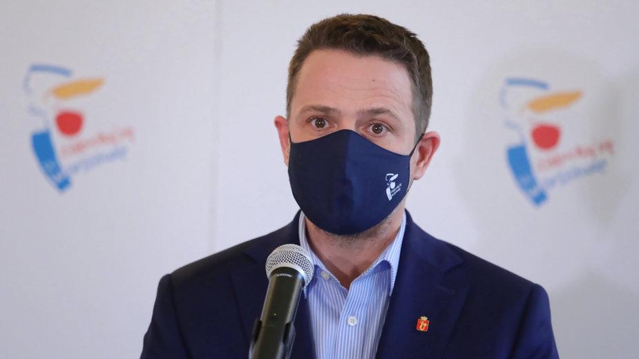 Rafał Trzaskowski apeluje do policji o apolityczność i przestrzeganie prawa