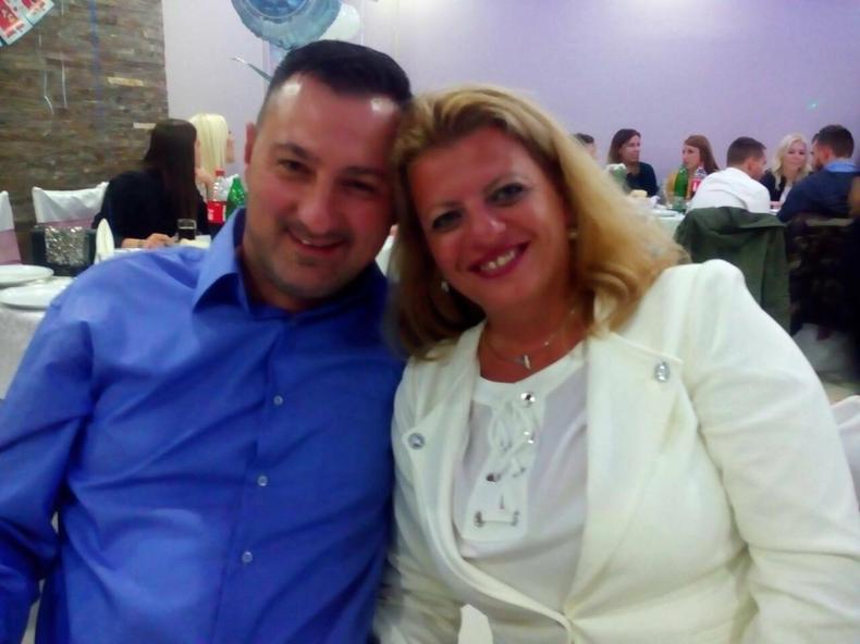 Aleksandra sa suprugom