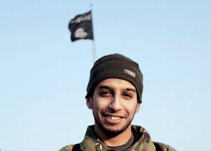 An undated photograph of a man described as Abdelhamid Abaaoud that was published in the Islamic Sta