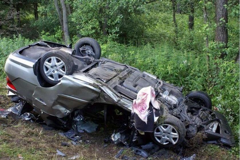 Wypadek w drodze na wakacje