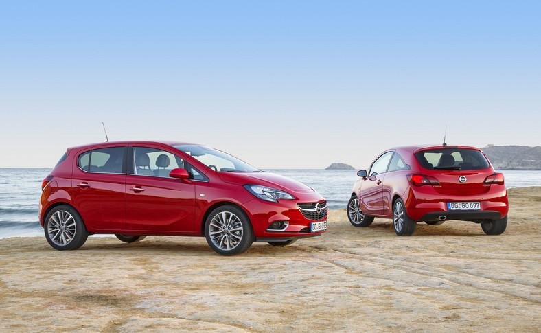 Opel corsa - od 2014 roku
