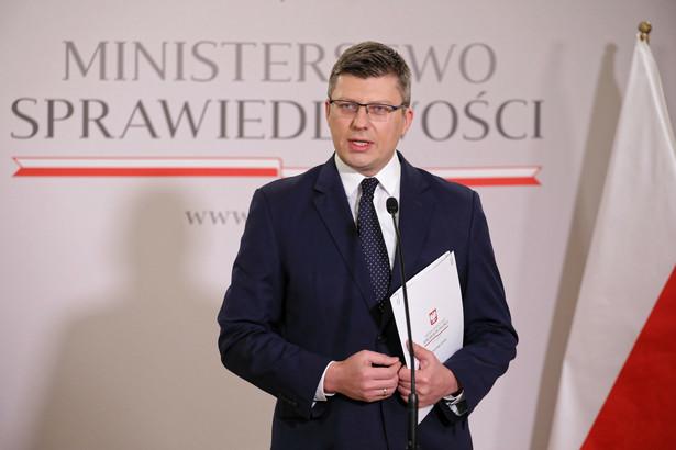 Wiceminister sprawiedliwości, pełnomocnik rządu ds. praw człowieka Marcin Warchoł