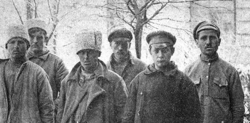 Co się stało z rosyjskimi jeńcami po bitwie w 1920r.?